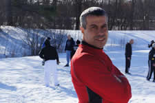 Avi Nardia Chief KAPAP instructor over seeing training at the Londonderry level 1 instructor course USA