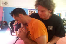 In recent years KAPAP has been taught to civilians for self defence. In 2003 Sam Markey brought the system to the UK