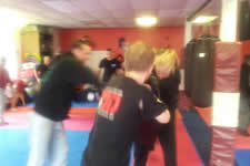 We train hard and every self defence drill we teach is pressure tested