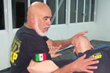 René Gatica Chief KAPAP instructor Mexico